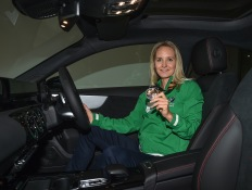 Nicci Daly – Irish International Hockey Player & World Cup Silver Medallist, Formula Female Founder and CJJ Motorsport Ambassador joins MSL Grange Motors as Brand Ambassador, here is Nicci collecting her Brand New Mercedes Benz A200 AMG from MSL Grange Motors state of the art showroom's on Pottery Road Dublin. ****NO REPRODUCTION FEE**** Pic © Michael Chester (Mandatory Credit) No Reproduction Fee 087 8072295 michael@chester.ie