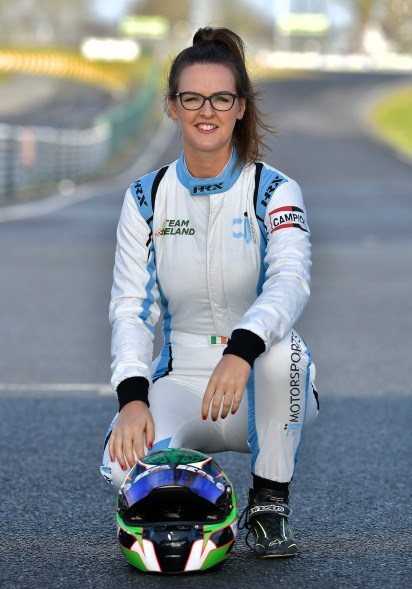 Nicole Drought CJJ Motor Sports Driver from Roscrea Co Tipperary © Michael Chester 087 8072295 info@chester.ie